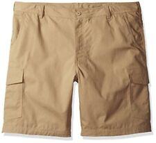 Columbia Cargo Shorts Mens Big & Tall Size 50 Montgomery Park Tan Ripstop