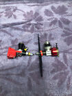 2 ANTIQUE COX MODEL AIRPLANE ENGINES  049 WITH RED CASE & TEE DEE 049