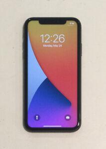 TESTED BLACK CDMA + GSM UNLOCKED APPLE iPhone 11, 128GB A2111 MWLE2LL/A J245T