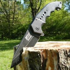 """9"""" M-TECH SPRING ASSISTED OPEN Tactical Combat Rescue Folding Pocket Knife"""
