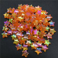 Star Orange Beads For Jewelry Making Diy 20Pcs 11X4Mm Spacer Beads Five-Pointed