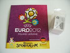 Panini Euro 2012, kompletter Satz ( 1-539 + PSS + D1-D20 ) + Leeralbum !!!