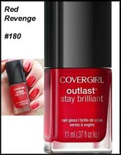 (5)X NEW Star Wars Covergirl Outlast Stay Brillant Nail Polish  Red Revenge #180