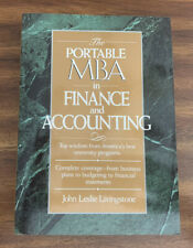 The Portable MBA in Finance and Accounting by John L. Livingstone PAPERBACK