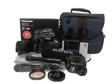 Panasonic LUMIX G7 16.0 MP Interchangeable Lens Camera Kit with RodeVideoMic Pro