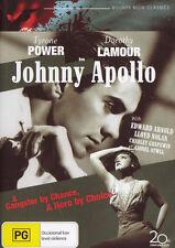 JOHNNY APOLLO TYRONE POWER DOROTHY LAMOUR DVD R4 NEW