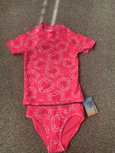 Girls Next Pink Swimming costume NEW Age 4