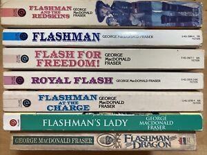 George MacD. Fraser lot of 7 Flashman TPB                  #271