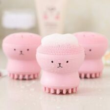 Silicone Face Cleansing Brush Facial Cleanser Pore Cleaner Exfoliator Face Scrub