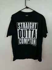 straight outta compton shirt adult large