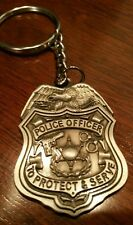 Police Key chain | Personalized Police Keychain | Pewter | Police Gear