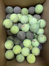 Lot of 50 used tennis balls For Dog Toys