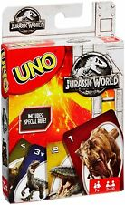 Mattel Games Uno Jurassic World