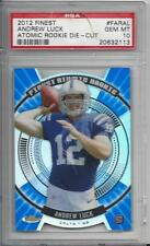 ANDREW LUCK 2012 TOPPS FINEST ATOMIC DIE CUT REFRACTOR COLTS RC GEM MINT PSA 10