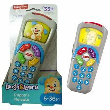 Fisher Price Toy Puppys TV Remote Control Laugh & Learn Toy TV Controller NEW