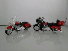 (4013) Harley Davidson Lot Of (2) Toy Motorcycles