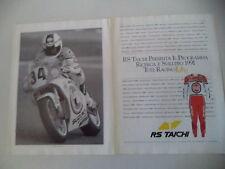advertising Pubblicità 1991 RS TAICHI e KEVIN SCHWANTZ