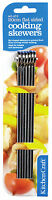Kitchen Craft Pack of 6 Cooking Kebab BBQ Party Skewers 20cm 30cm Assorted