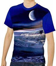 Unbranded Cotton Blend Crew Neck Stretch T-Shirts for Men