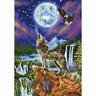 Diamond Dotz Complete Diamond Facet Art Kit Mystic Wolf