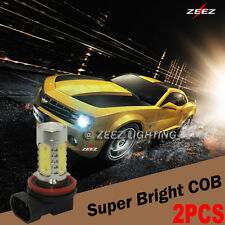 High Power LED COB High Hi-Beam Bulb Daytime Running Light DRL White 9005 HB3#8