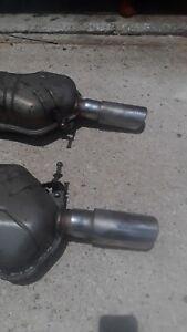 Exhaust Muffler Fits: 2000-2003 Audi A6 Quattro 4.2L V8 GAS DOHC L/R OEM