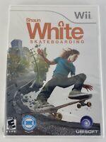 Shaun White Skateboarding (Nintendo Wii) New Sealed