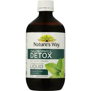 Nature's Way SuperFood Chlorophyll 500ml Detox Add it to your water