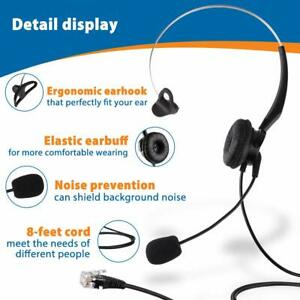 8945 7965 7861 8841 7945 Arama Cisco Headset Phone Headset RJ9 w//Noise Canceling Microphone Mute Switch Corded Telephone Headset for Cisco IP Phones: 6941 M12 M22-A800C2 7960 7942 7962