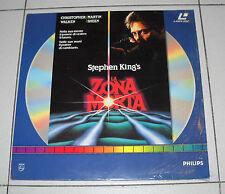 Laser Disc Stephen King LA ZONA MORTA Christopher Walken OTTIMO ITA LD Laserdisc