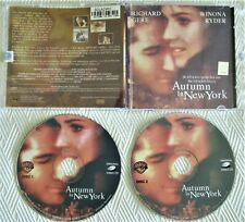 AUTUMN IN NEW YORK - FILM MOVIE VIDEO CD (english edition)