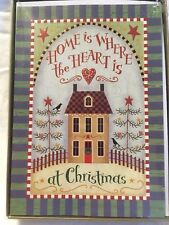 KOHL'S IMAGE ARTS 16 CT CHRISTMAS CARDS HOME IS WHERE THE HEART IS AT CHRISTMAS