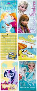 NEW DISNEY Character Novelty Cotton Beach Towel Boys Girls Kids Gift Disney UK