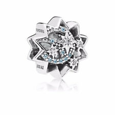 Authentic Pandora Disney, When You Wish Upon A Star Charm, Light Blue Enamels