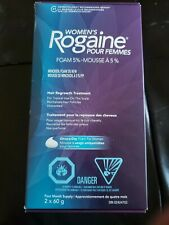 Rogaine Womens Foam 5% - 4 Month Supply Exp 04/2021 or later
