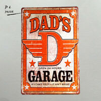 """DL-/""""what color is your ?/"""" metal sign painting Decor Wall Art poster Garage"""