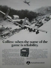 9/1977 PUB ROCKWELL COLLINS VHF AM/FM RECEIVER VHF-125 AIR FORCE A-10 F-16 AD