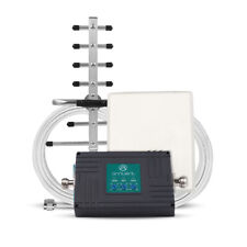 Mobile Phone Signal Booster 4G LTE Verizon700MHz 2G 3G 850/1900MHz 70dB Repeater