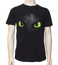 Dreamworksdragon T-shirt Ohnezahn schwarz 152-158