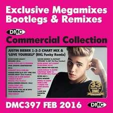 DMC Commercial Collection 397 Club Hits Mixes & Two Trackers DJ Music CD