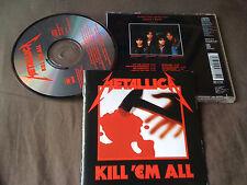 METALLICA / kill 'em all /JAPAN LTD CD