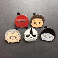 Star Wars - Tsum Tsum Mystery Pin Pack Series 3 Set of 5 Pins Disney Pin 126918