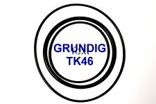 SET CINGHIE GRUNDIG TK 46 REGISTRATORE A BOBINE BOBINA NUOVE FRESCHE FORTI TK46