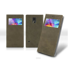 Cell Phone Case View Flip for Galaxy S 8 7 6 5 edge plus J A 7 5 Note 5 4 AR2
