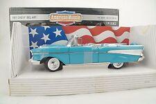 1:18 Ertl - 1957 CHEVY BEL AIR Collectors Edition - blue - RARITÄT - neu/OVP