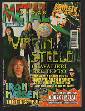 METAL SHOCK 262/1998 IRON MAIDEN VIRGIN STEELE BAD RELIGION SOULFLY TWO OPUS