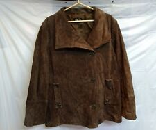 BGSD brown leather coat 2XL 100% genuine leather