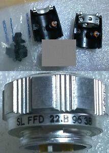 Stecker Buchse 2 Pin Verouillable - Sl Ffd 22 B - AMPHENOL SOCAPEX