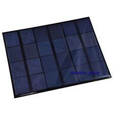 Cellule Solaire 600mA 6V 3.5W Panneau Solaire Mini Solar Panel 165x135mm