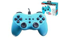 Subsonic Colorz Controller For Nintendo Switch With 3 Meter Cable Neon Blue -NEW